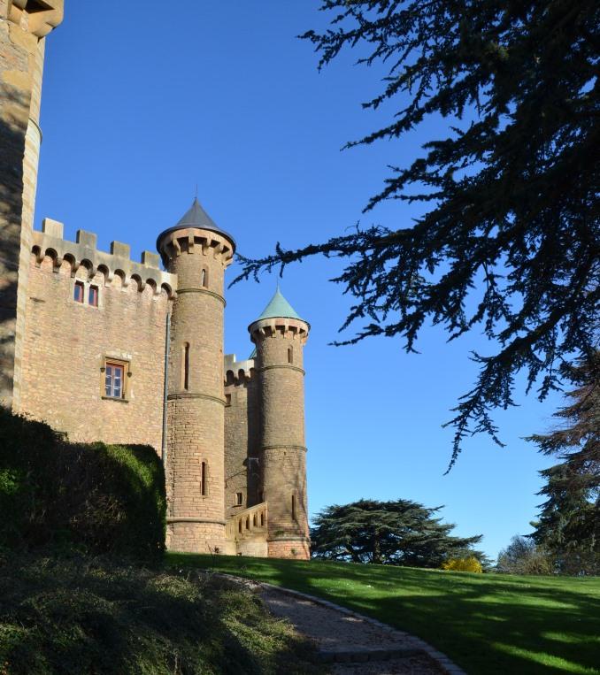 zamek w Beaujolais