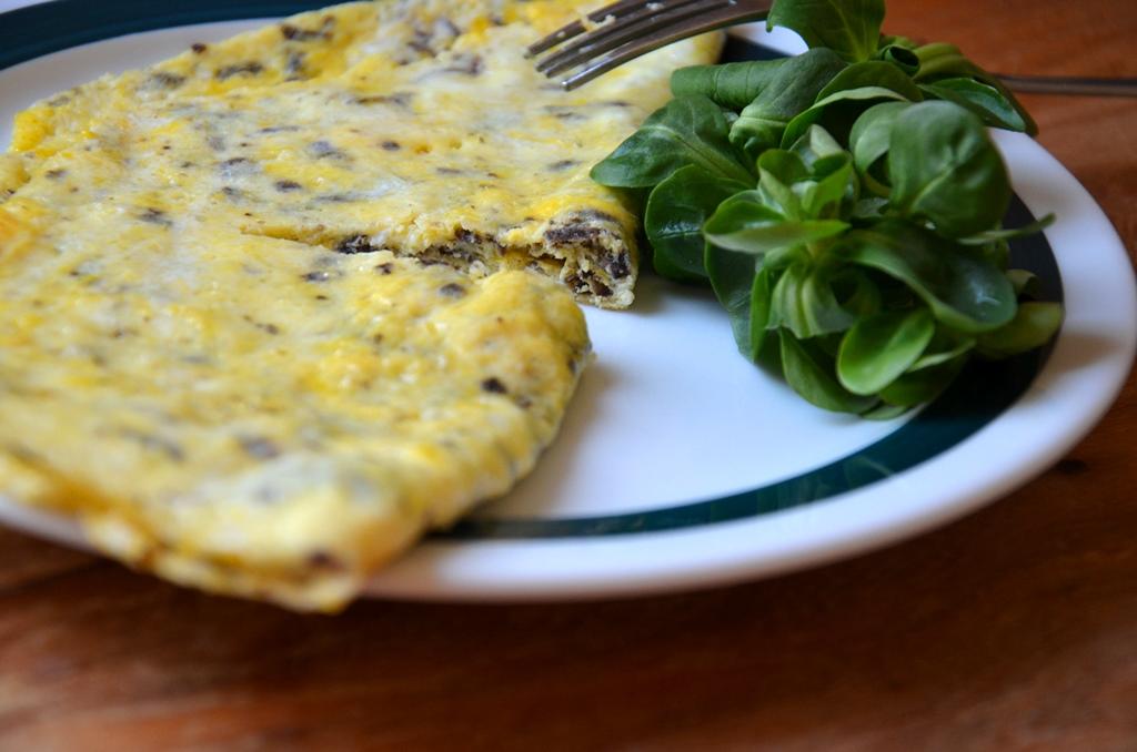 omlet z truflami