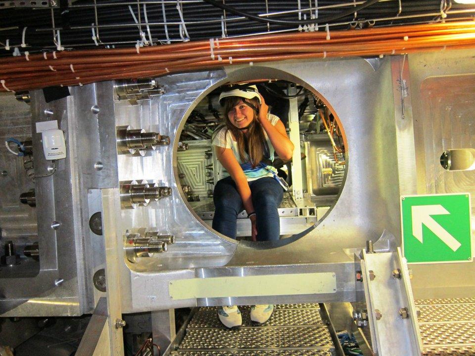 ja w CERN