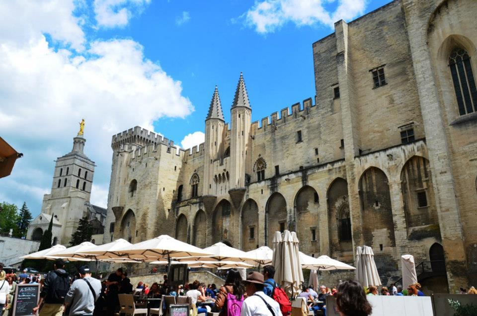 Pałac papieski - Avignon